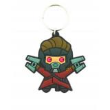 Porte cle Kawaii Star Lord Marvel 6 cm porte clef