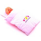 Couverture et oreiller lit berceau jouet poupee