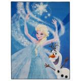 Tapis digital La Reine des Neiges 125 x 95 cm chambre frozen