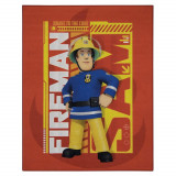 Tapis Sam le pompier 95 x 125 cm chambre enfant
