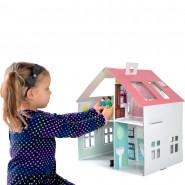Maison de poupée en carton, a construire et décorer