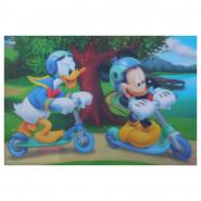 Set de table Mickey Mouse 3D sous main troti