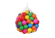 100 balles multicolore balle plastique