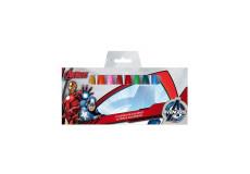 12 crayon gras cire Avengers Disney