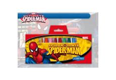12 crayon gras cire Spiderman Disney