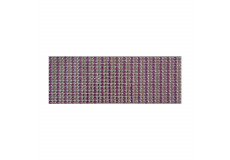 504 Stickers demi perles scrapbooking autocollant rond violet strass