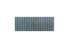 504 Stickers carré scrapbooking autocollant bleu strass
