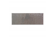 504 Stickers carré scrapbooking autocollant gris strass