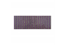 504 Stickers carré scrapbooking autocollant violet strass