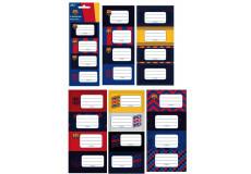20 étiquette Barca Disney cahier enfant ecole FC Barcelone