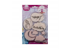 30 stickers Princesse Phosphorescents Glow in the dark veilleuse