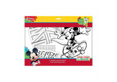 6 Grands dessin Mickey coloriage Disney 6 feutres