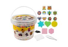 5000 perle a repasser multicolore + 5 modele jouet