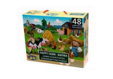 Puzzle 48 pieces La Ferme piece XL 60 x 90 cm Geant