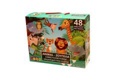 Puzzle 48 pieces La Jungle piece XL 60 x 90 cm Geant