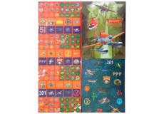 150 stickers + cahier Planes Disney autocollant enfant