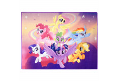Tapis enfant My Little Pony 125 x 95 cm Disney 02 Haute qualite