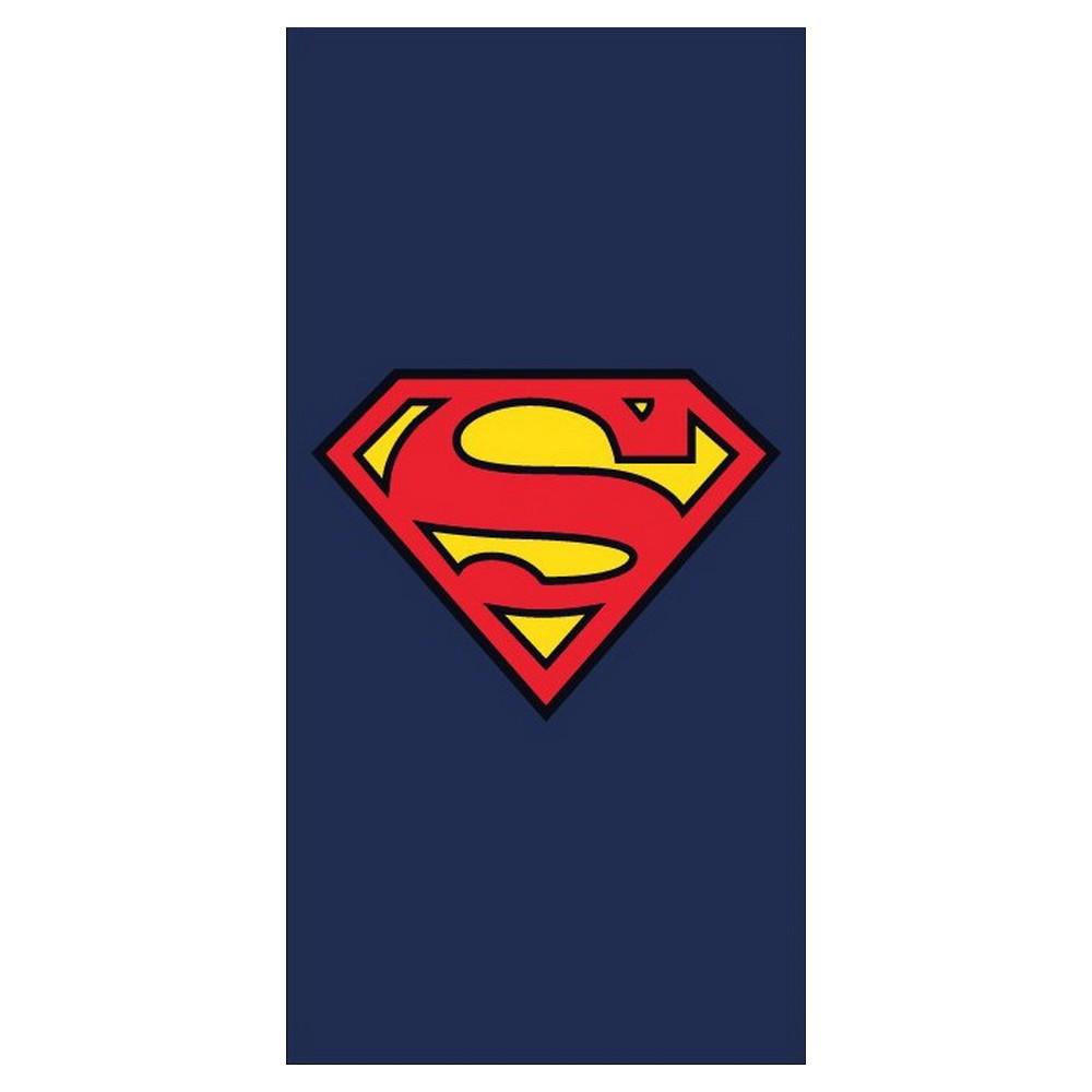 SWIM TOWEL OFFICIAL NEW BATH SUPERMAN LOGO BEACH TOWEL