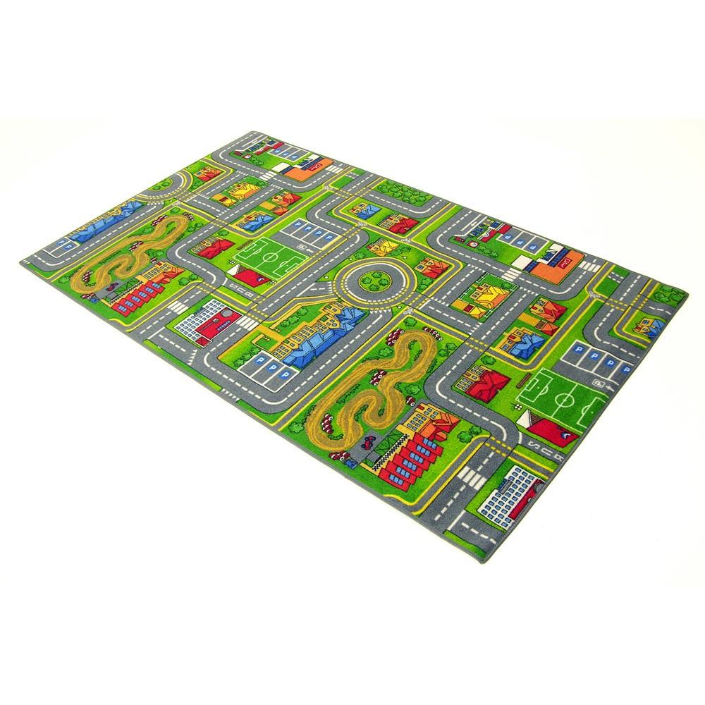 Grand tapis de route 140 x 200 cm circuit enfant ebay - Tapis 200 x 200 ...
