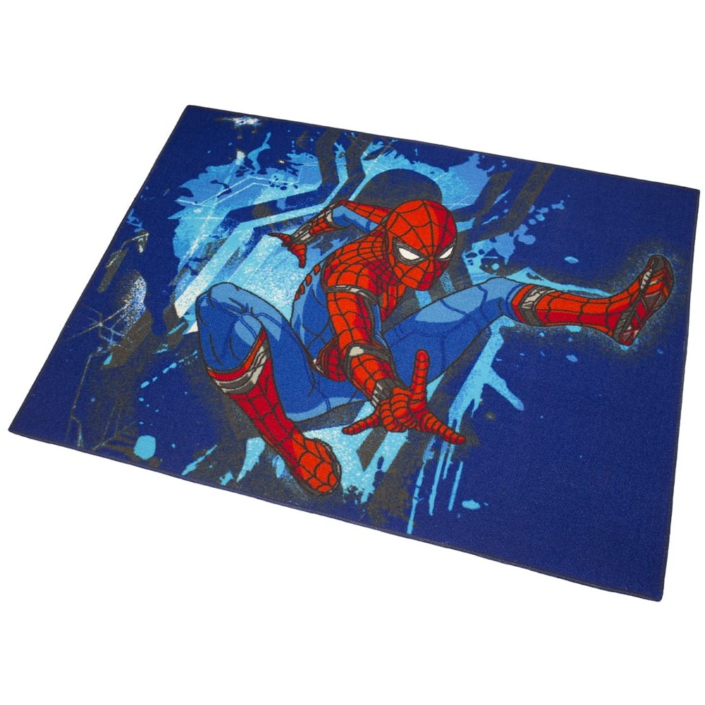 Tapis Enfant Spiderman 133 X 95 Cm Disney Action Ebay